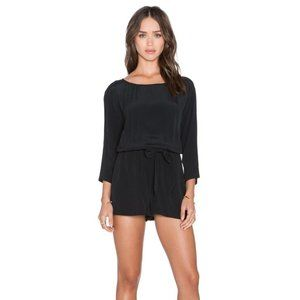 BB Dakota Heather Tie Waist Shorts Romper Shorts